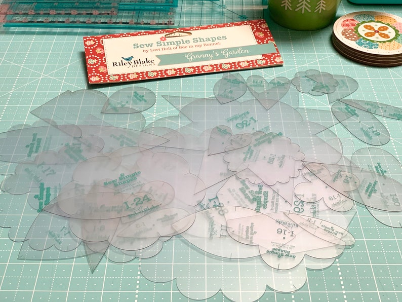 Granny's Garden   Sew Simple Shapes image 0