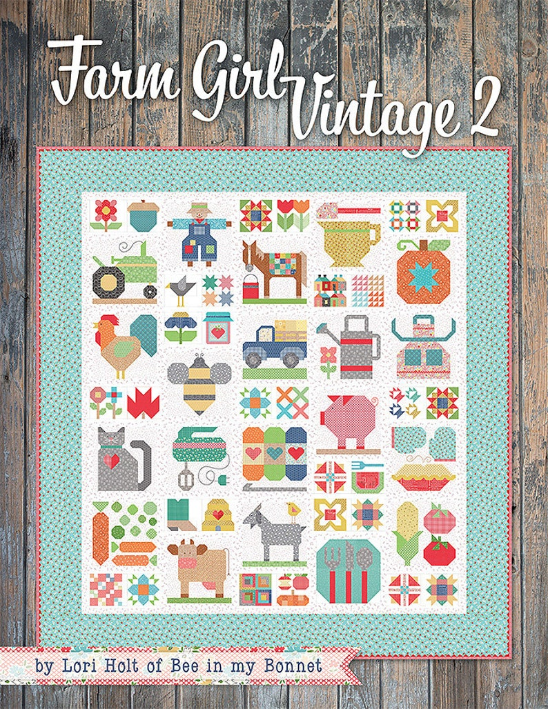 FARM GIRL VINTAGE 2 Book by Lori Holt of Bee in my Bonnet image 0