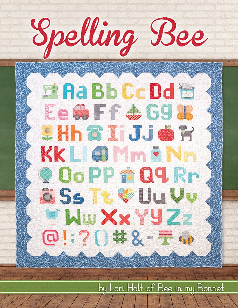 Spelling Bee by Lori Holt of Bee in my Bonnet image 0