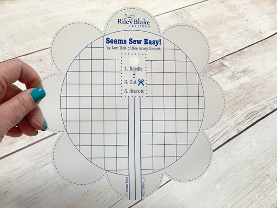 Riley Blake Designs Lori Holt Seams So Easy Seam Guide Denim