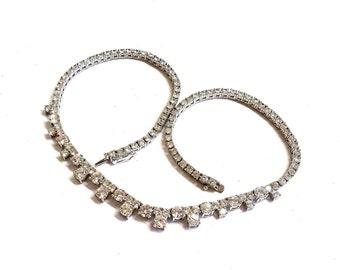dbf8f6698577 Sterling Silver Touchstone Round Cut Swarovski Crystal Necklace