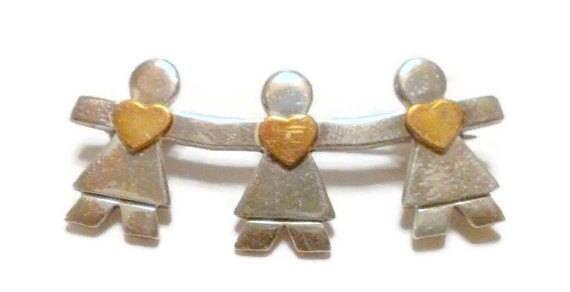 Vintage Sterling Silver Naldo Save The Children /