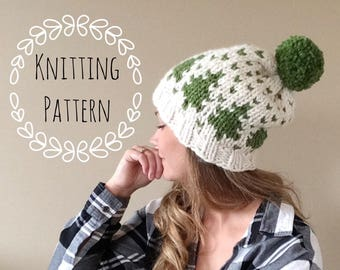 Timber Toque, Knitting Pattern, Fair Isle, Fair Isle Knit Hat, Chunky Fair Isle, Knit Hat, Knit Hat Pattern, Pattern, Knit Beanie Pattern