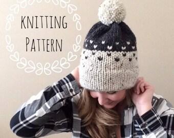 8c78cdcdf41 Mountain Toque Knitting Pattern Fair Isle Fair Isle Knit