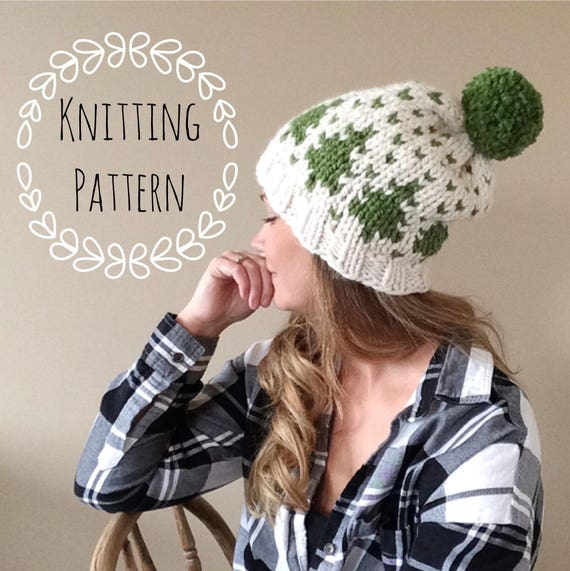 Timber Toque Knitting Pattern Fair Isle Fair Isle Knit Hat Etsy