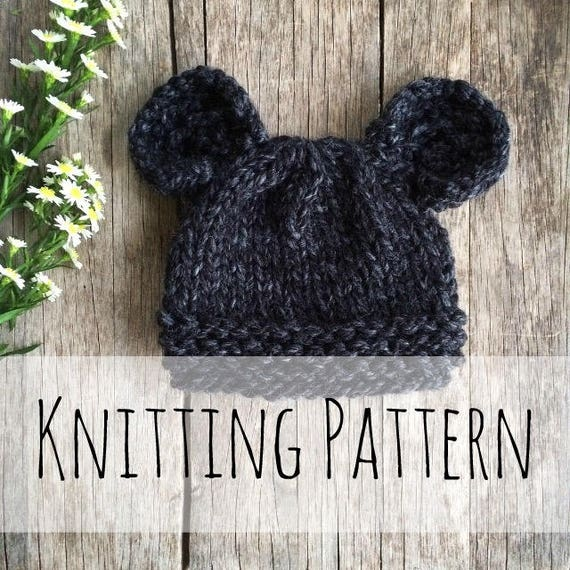 Spirit Bear Toque Knitting PatternKnit Hat Knit Hat  67c0a210679