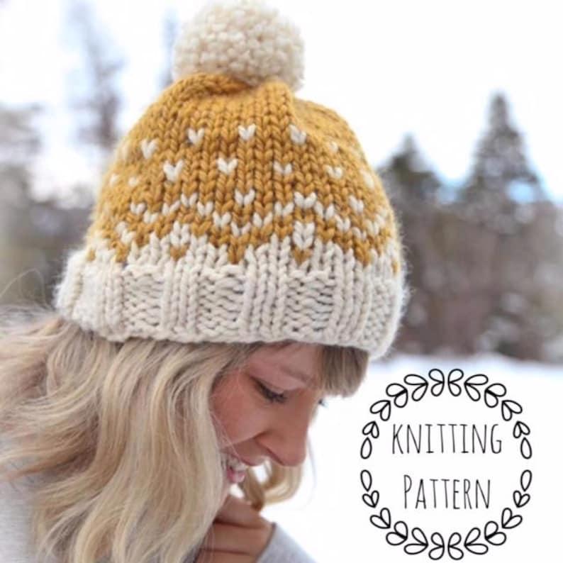 663b11aa8ee Mountain Toque Knitting Pattern Fair Isle Fair Isle Knit