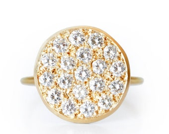NEW ! Ring Dune gold and diamond