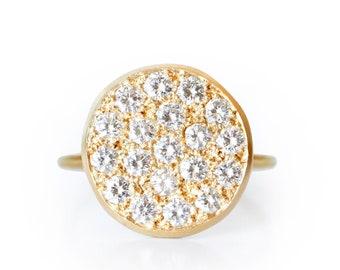 Ring Dune gold and diamond