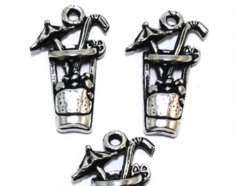 5447 20 Pewter Cocktail Drink Charms