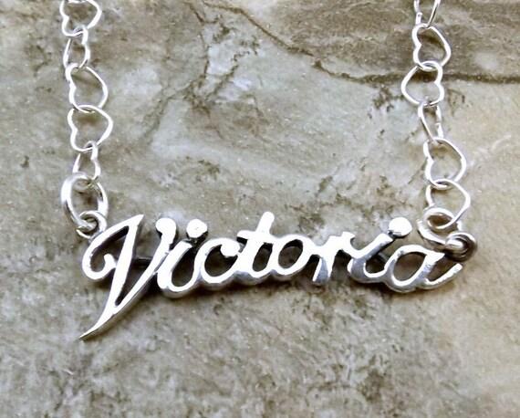 collier prenom victoria