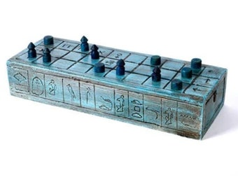 Senet Board Game and Hounds and Jackals - Ancient Egypt Game