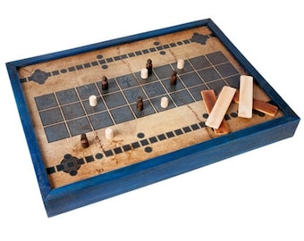 Senet Board Game from Ancient Egypt