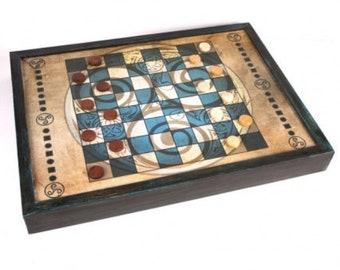 PACK 3 juegos (damas , backgammon, nine me of morris)