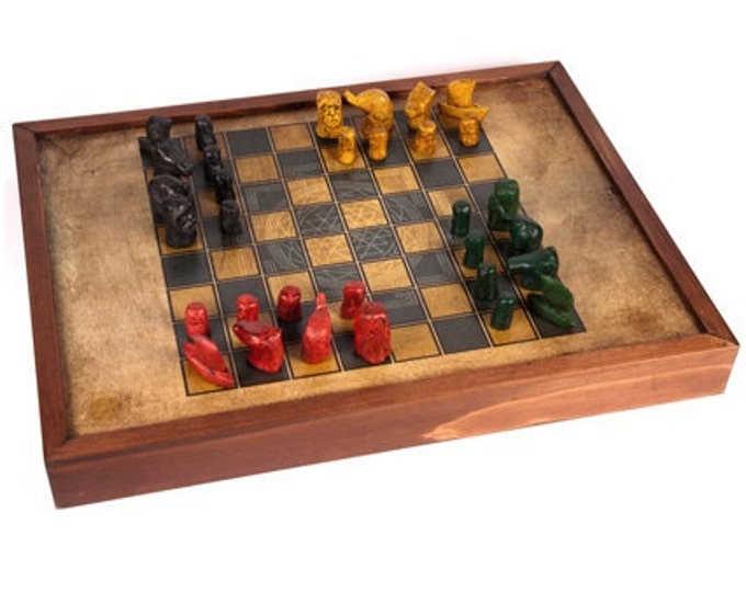Featured listing image: Indian Chess - Chaturanga Game Board