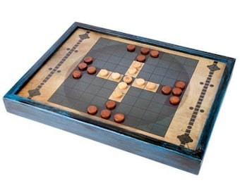 SPECIAL OFFER!! ** Pack of Two Traditional Games - Tablut & Royal Game of Ur