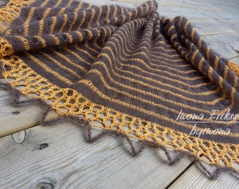 Lace Shawl Knitting Pattern, Rayn Shawl, Half Round Shawl, PDF Pattern, Instant Download, Ladies Shawl, Lace Wrap, LaceKnit Design