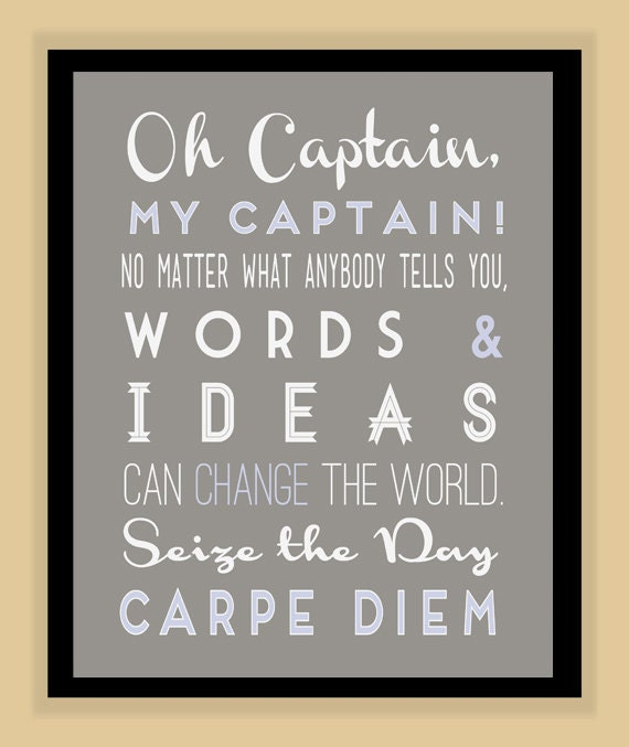 oh captain