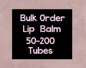 50-200 Tubes, Lip Balm, Bulk Order, Wedding Favours, Wedding Favor, Lipbalm, Wholesale, Bulk Buy, Gift for Him, Medusa Holistics