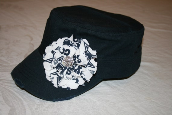 933ce6b45c367 ... australia navy dallas cowboys cadet military hat hats shabby chic  ladies etsy 030ef eefdb