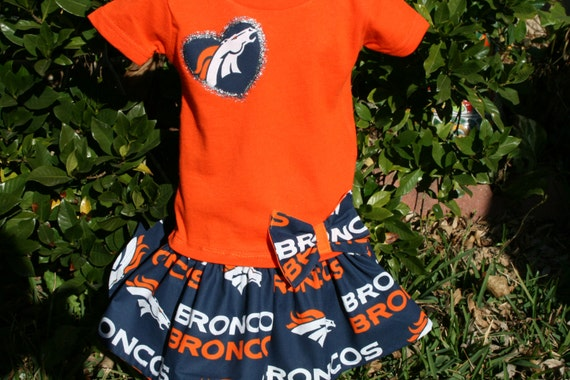 Baby Girls Denver BRONCO T Shirt Dress Infant Infants Toddler Toddlers  Youth Game Day Football Dresses SELECT Tab 4 Size Color Tee 391d439e9