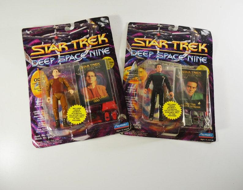 Star Trek Deep Space Nine/Playmates/Security Chief ODO and Doctor Julian  Bashir