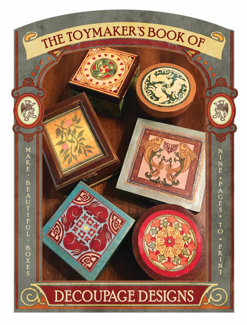 The Toymaker's Ebook of Decoupage Designs image 0
