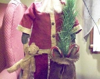 Standing Santa e pattern