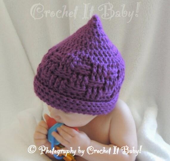 Crochet Basket Weave Hat 4 Sizes Pattern Only Etsy