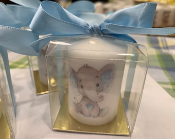 Thank you favors, Baby shower favors, gender neutral favors, elephant themed favors, Baby shower Favors, Personalized affordable, unique