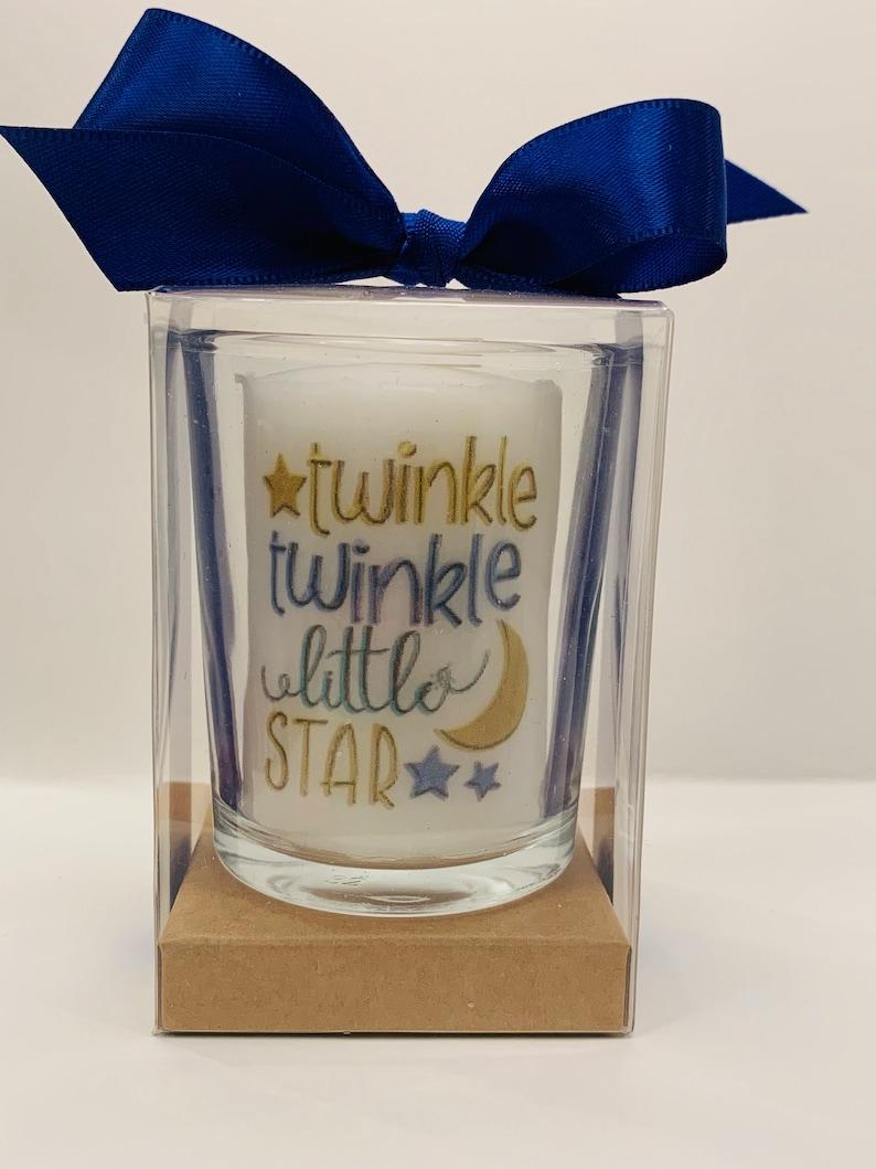 Twinkle twinkle Baby shower favors gender neutral favors image 0