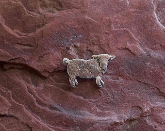 Animal brooch Goat jewelry Pins Animals San Marino Coin brooch Animal pin Animal jewelry Goat brooch 1981 Goats Coins Goat pin