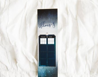 Doctor Who Allons-y - Bookmark