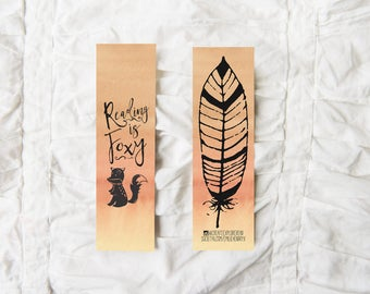 Reading is Foxy - Bookmark