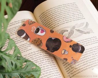 Coffee Break Laminated Bookmark