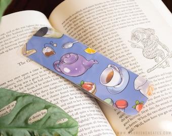 Tea Time Laminated Bookmark