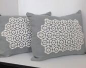 Pair of Linen Pillow cove...