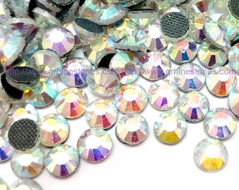 1440pc DMC Hotfix Rhinestones aurore boreale diamante crystal AB wholesale ( HOTFIX) 3mm  4cc1170dd225