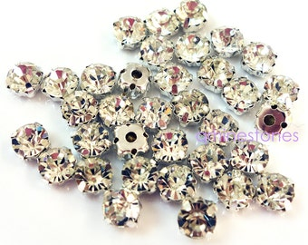 Montees Crystal Clear 500pcs Sew On Rhinestone 3mm 0c0bbbe85e24