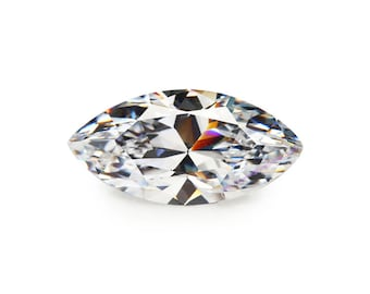 4mm-14mm AAAAA Rated Heart Brilliant White Cubic Zirconia