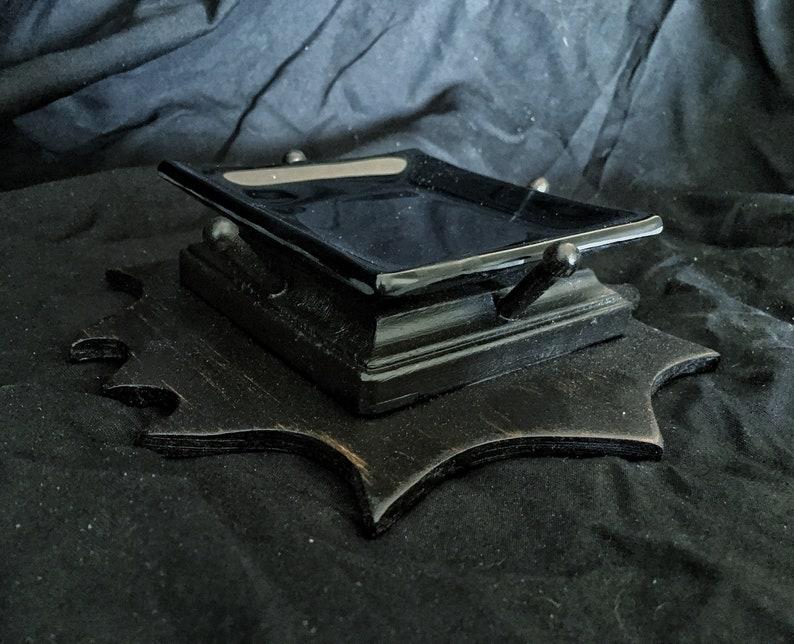 Altar Plate Offering Plate Antique Cast Metal Base for image 0