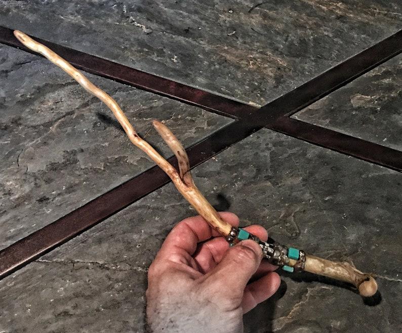 Bone and Root Magick Wand image 0