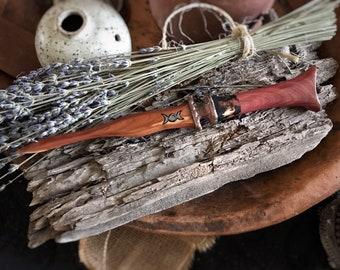 Wooden Ritual Knife, Athame - Cedar