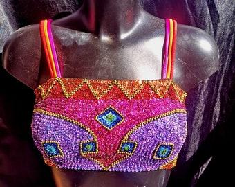 Rainbow dreams sequin top - Fairylove