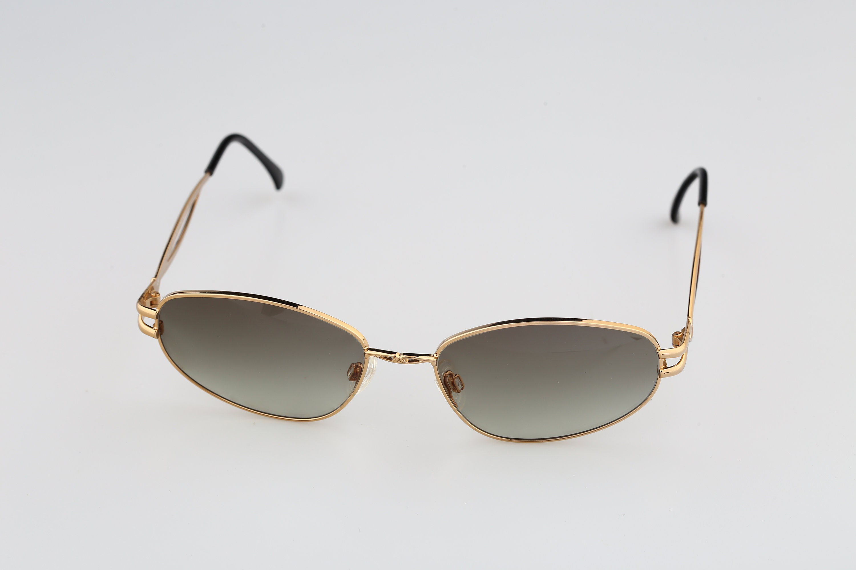 Anteprima Agata 7 Vintage 90s gold rectangle cat eye
