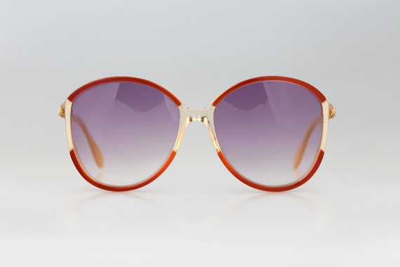Silhouette M 1126 20 C 2713, Vintage 70s red & cl… - image 3