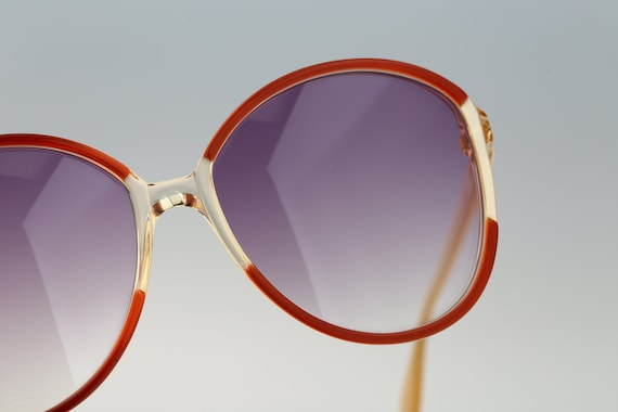 Silhouette M 1126 20 C 2713, Vintage 70s red & cl… - image 6