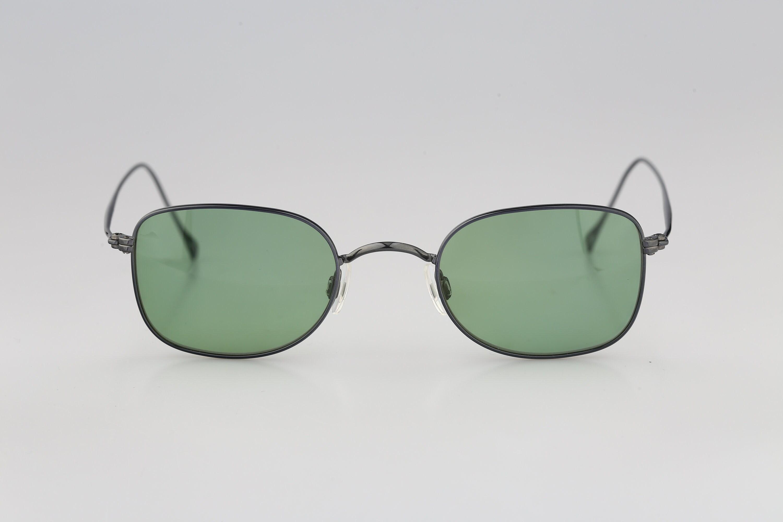 Rodenstock R4418 Titanium Vintage 90s tinted green lenses