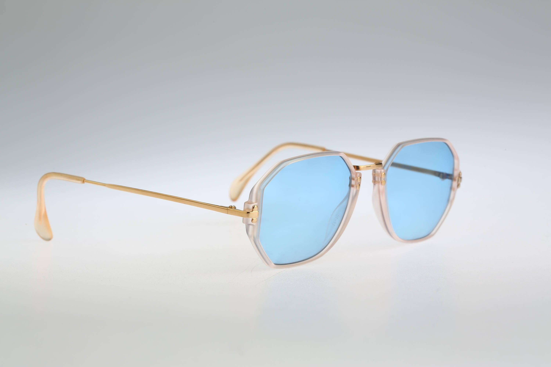 Silhouette M 2741 V 1870 Vintage 90s tinted blue lenses