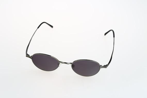 Small round sunglasses men, Rodenstock R4221 Titanium, Vintage 90s unique micro panto sunglasses women, NOS